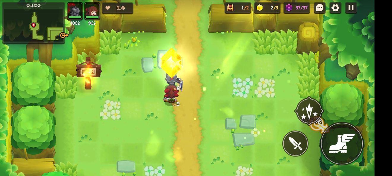 坎公骑冠剑1-3图文攻略 全金币宝箱三星收集攻略